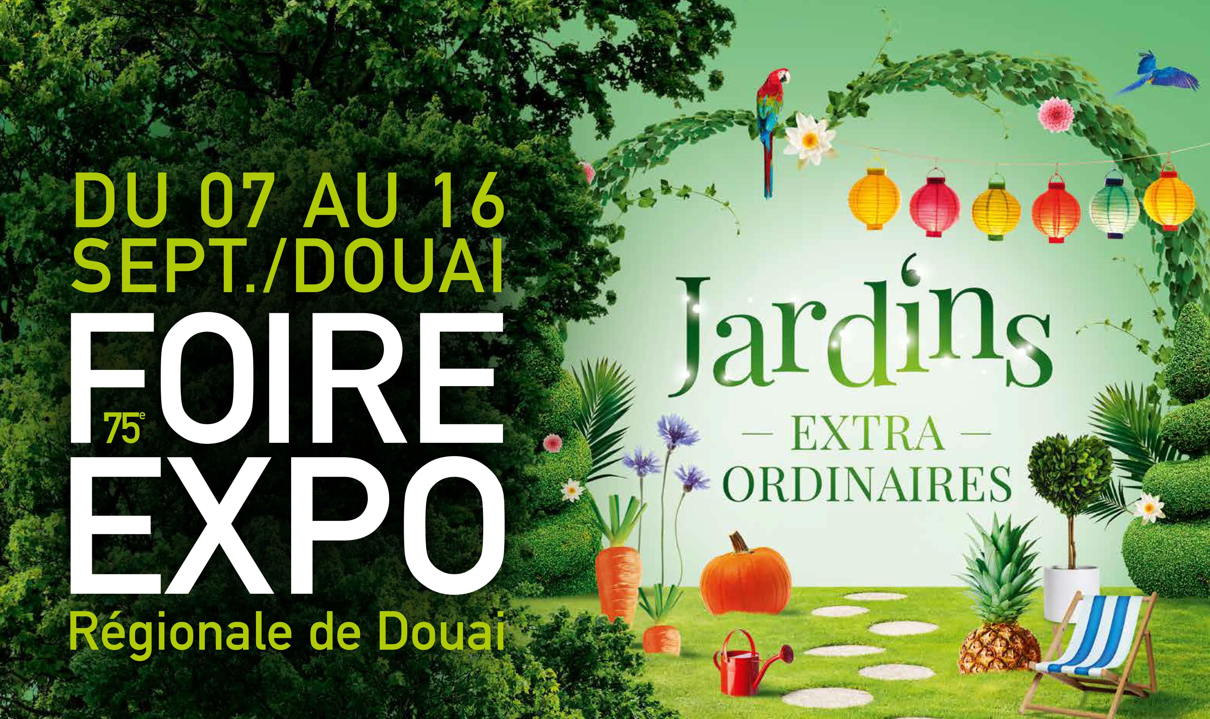 Rendez-vous : la Foire de Douai du 7 au 16 septembre 2019