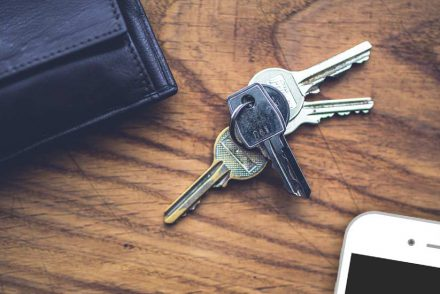 Trousseau de clefs : protection